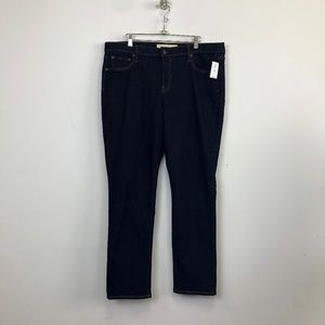 NWT Gap 1969 Rinsed Denim Real Straight Jeans